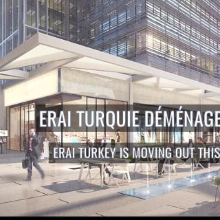 ERAI Turquie s'agrandit et déménage cet été 2017 !