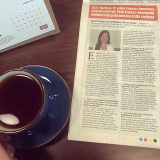 Reportage d'ERAI Turquie dans Hürriyet