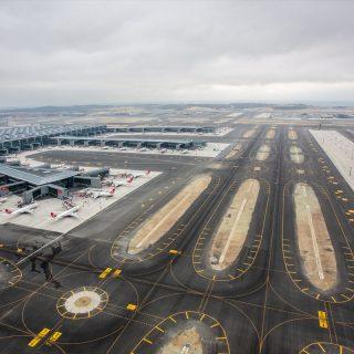 Construction d'une ligne de métro pour le nouvel aéroport d'Istanbul