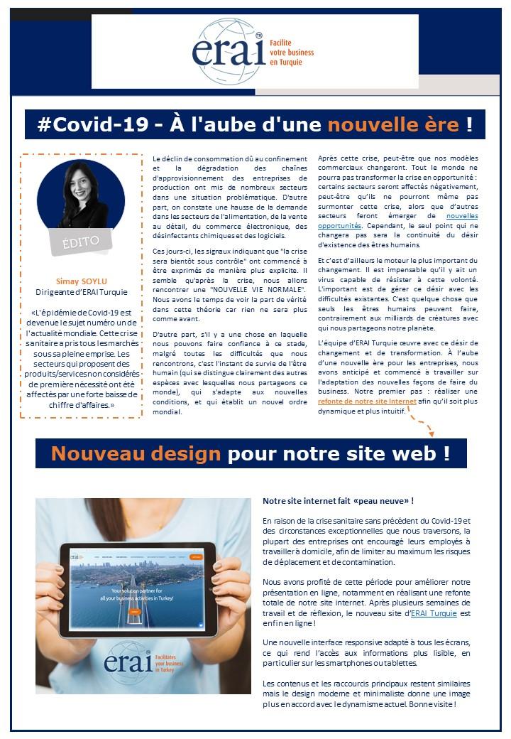 #Covid-19 - À l'aube d'une nouvelle ère !